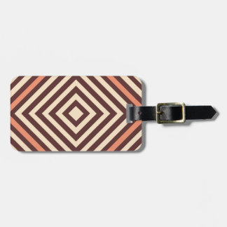 Coffee and Cream Luggage Tag