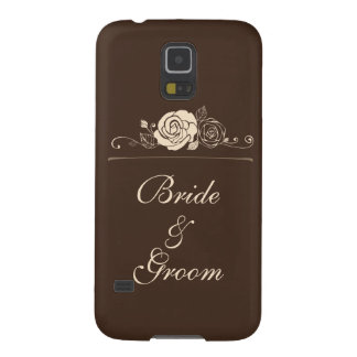 Coffee and Cream Roses Coordinating Gifts Galaxy S5 Case