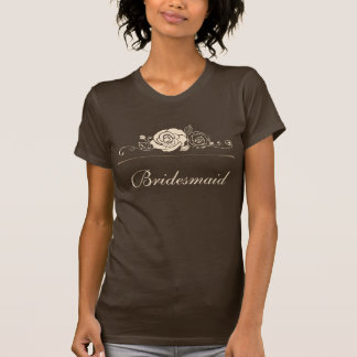 Coffee and Cream Roses Coordinating Gifts T-shirt