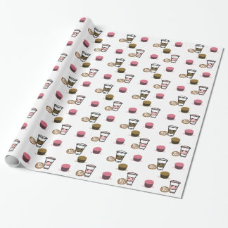 Coffee and Cupcakes Wrapping Paper
