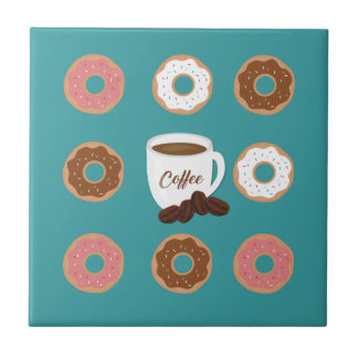Coffee and Donuts Tile