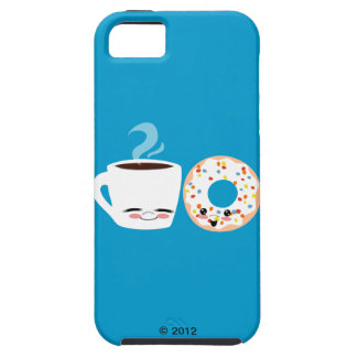 Coffee and Doughnut Pals iPhone 5 Covers