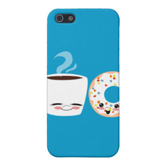 Coffee and Doughnut Pals iPhone 5/5S Cover