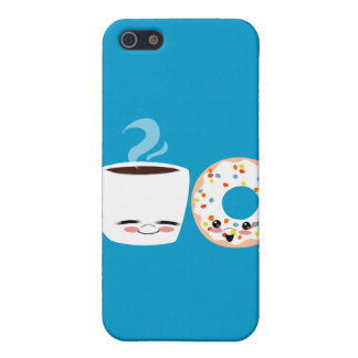 Coffee and Doughnut Pals iPhone 5/5S Covers
