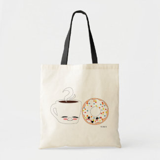 Coffee and Doughnut Pals Tote Bag