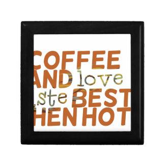 coffee and love funny cool humor joke gift box