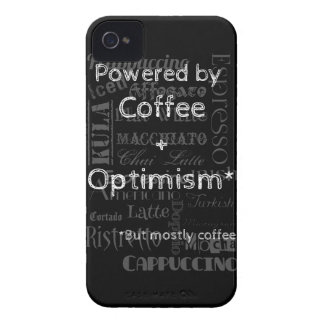 Coffee and Optimism iPhone 4 Case-Mate Case