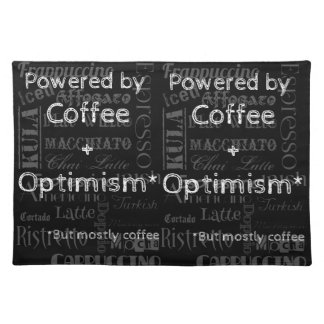 Coffee and Optimism Placemat