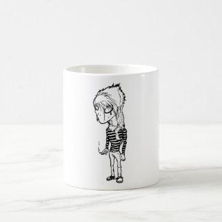 Coffee and Smokes; Odonis Orphane Basic White Mug