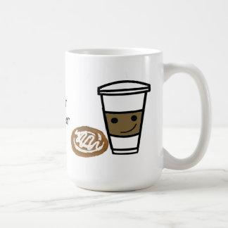 Coffee and Sweet with Cute Saying Coffee Mug