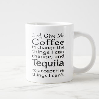 Coffee and Tequila Large Coffee Mug