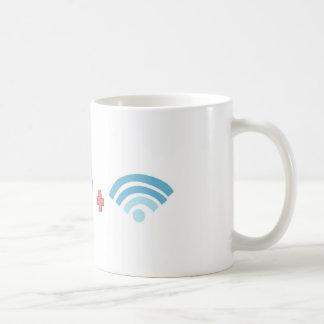 Coffee and Wifi Coffee Mug