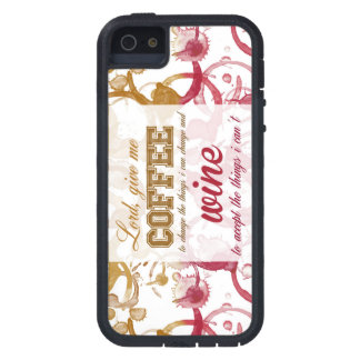 Coffee and Wine Phone Case iPhone 5 Cover