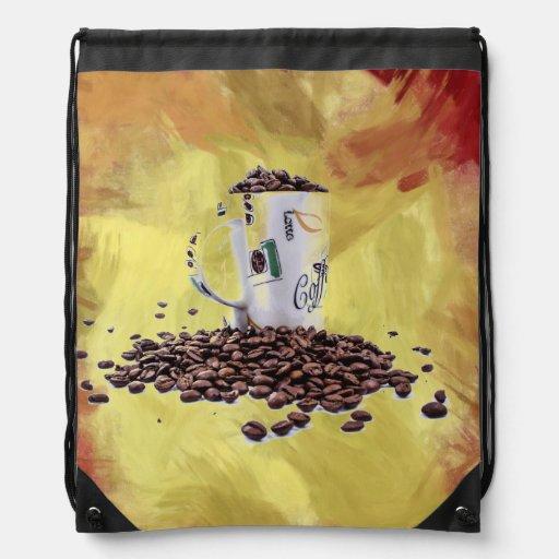 Coffee Aroma Cinch Bags