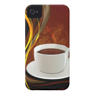 Coffee Art Cafe iPhone 4 Covers