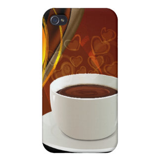 Coffee Art Cafe iPhone 4 Cover