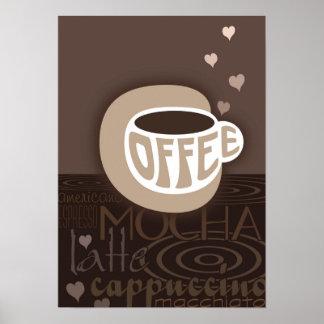 Coffee Art Poster