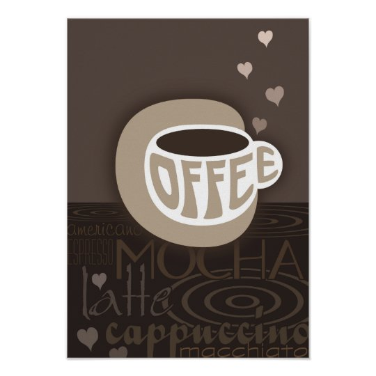 Coffee Art Poster