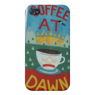 Coffee at Dawn Iphone Case Covers For iPhone 4