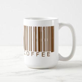 Coffee Barcode Basic White Mug