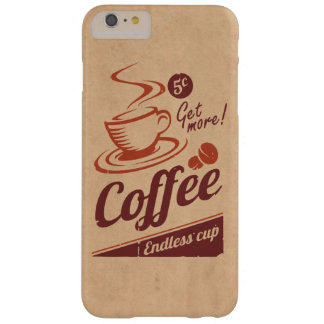Coffee Barely There iPhone 6 Plus Case
