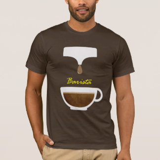 coffee barista t-shirts