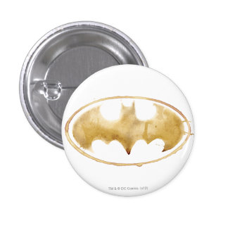 Coffee Bat Symbol 3 Cm Round Badge