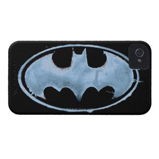 Coffee Bat Symbol - Blue iPhone 4 Case-Mate Case