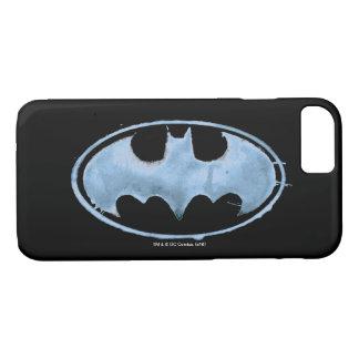 Coffee Bat Symbol - Blue iPhone 8/7 Case