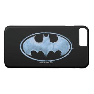 Coffee Bat Symbol - Blue iPhone 8 Plus/7 Plus Case