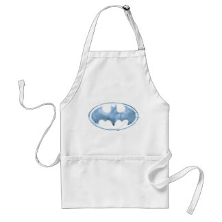 Coffee Bat Symbol - Blue Standard Apron