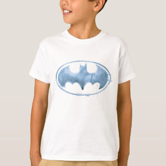 Coffee Bat Symbol - Blue T-Shirt