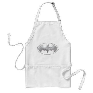Coffee Bat Symbol - Gray Adult Apron