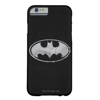 Coffee Bat Symbol - Gray Barely There iPhone 6 Case