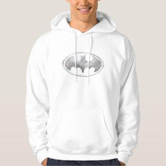 Coffee Bat Symbol - Gray Hoodie