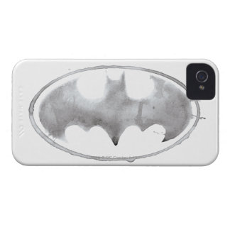 Coffee Bat Symbol - Gray iPhone 4 Case