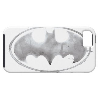 Coffee Bat Symbol - Gray iPhone 5 Cases