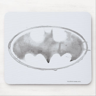 Coffee Bat Symbol - Gray Mouse Mat