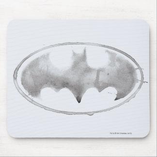 Coffee Bat Symbol - Gray Mouse Pad