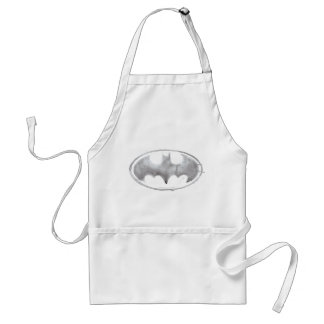 Coffee Bat Symbol - Gray Standard Apron