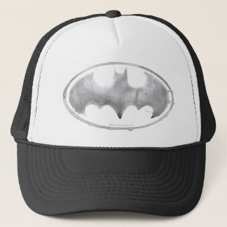 Coffee Bat Symbol - Gray Trucker Hat