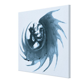 Coffee Batman Canvas Print