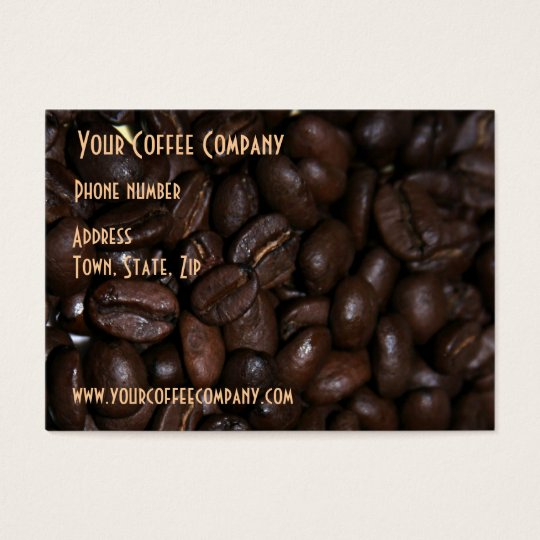 Coffee Bean Business Card