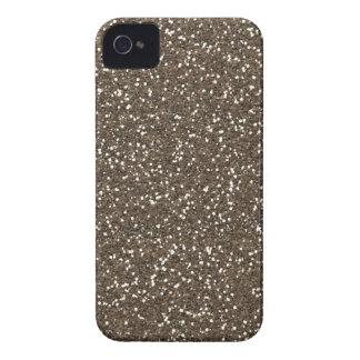 Coffee Bean Faux Glitter iPhone 4 Case-Mate Case