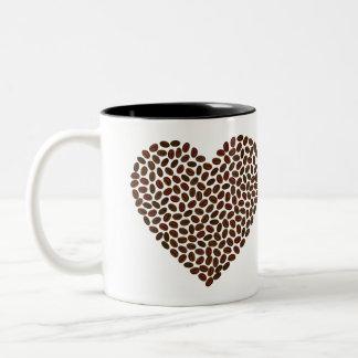 Coffee Bean Heart Mug
