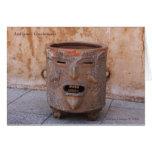 Coffee Bean Pot, Antigua Guatemala Greeting Card