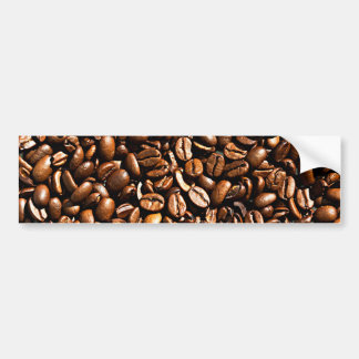Coffee beans bumper stickers