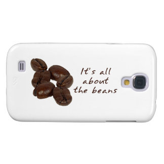 Coffee Beans Galaxy S4 Cases
