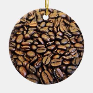 coffee beans christmas ornament