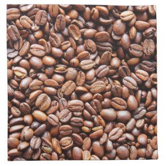Coffee beans cloth napkins